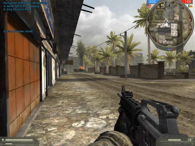 Battlefield 2 боты в одиночной игре